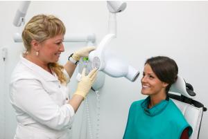Прицельный рентген зуба