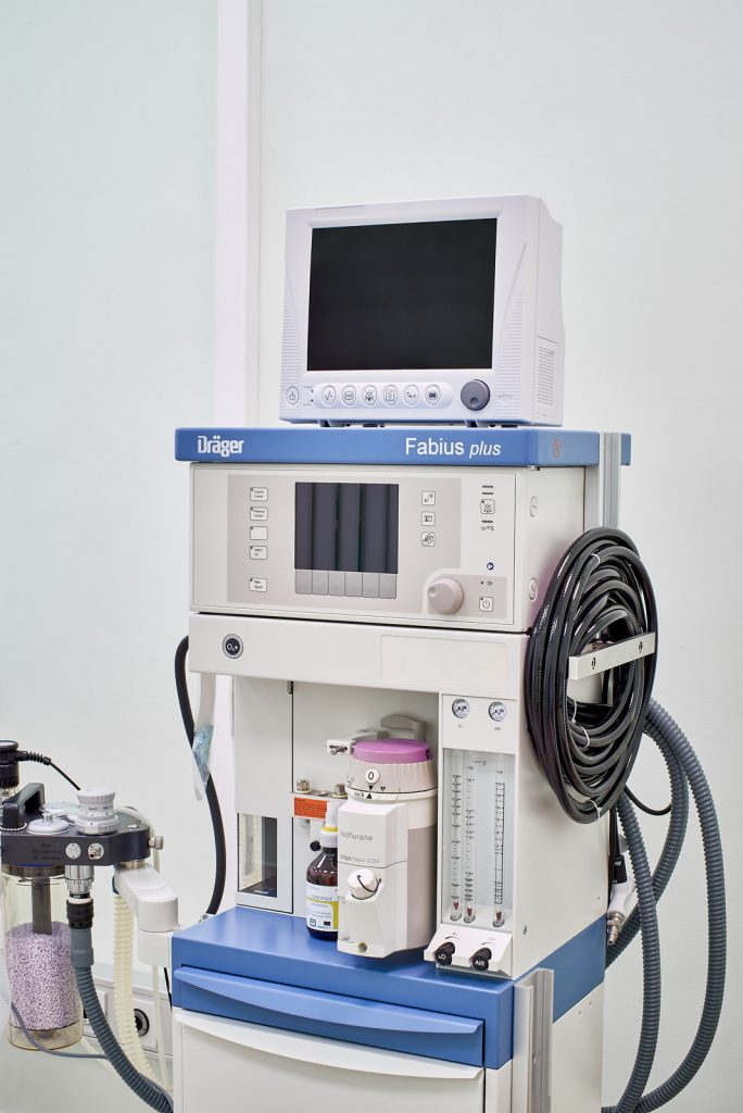 Особенности общей анестезии в нашей клинике