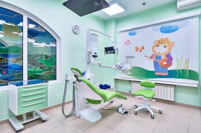 Детское стоматологические кресло