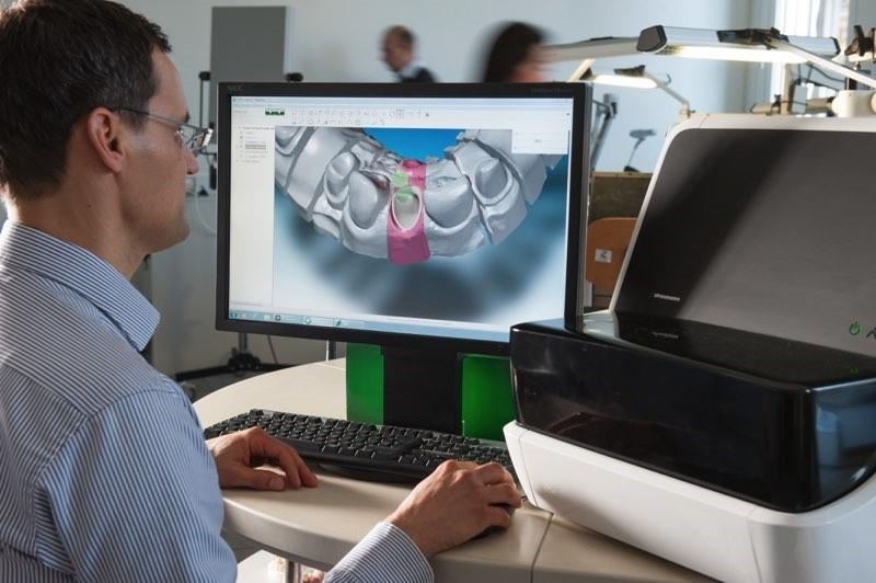 создание 3D-модели ротовой полости
